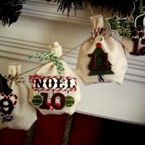 Nos DIY idées en photos avec une guirlande de Noël! Inspirez - vous avec 43 photos de Noël!
