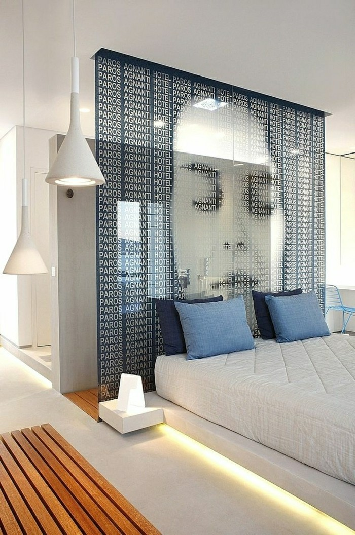 La t te de lit originale en 46 photos for Chambre originale design