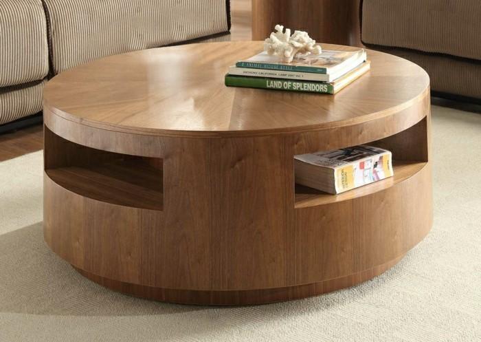 Choisir le meilleur design de la table basse avec rangement for Alinea table basse bois