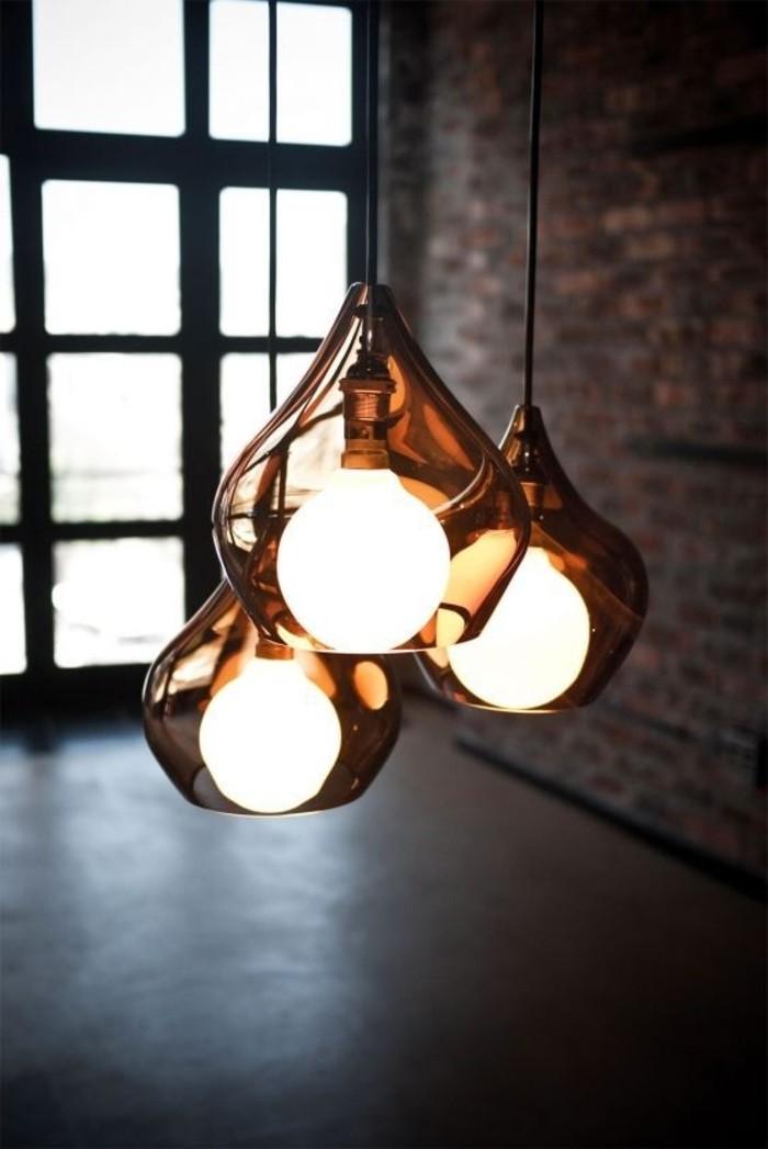 La lampe design en 44 photos magnifiques - Lampe a poser industriel ...