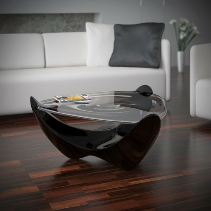 La table basse design en mille et une photos avec beaucoup - Table salon originale ...