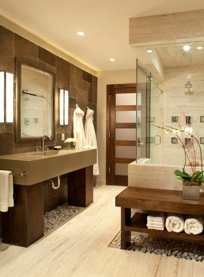 40 id es en photos comment incorporer l 39 ambiance zen for Decoration maison salle de bain