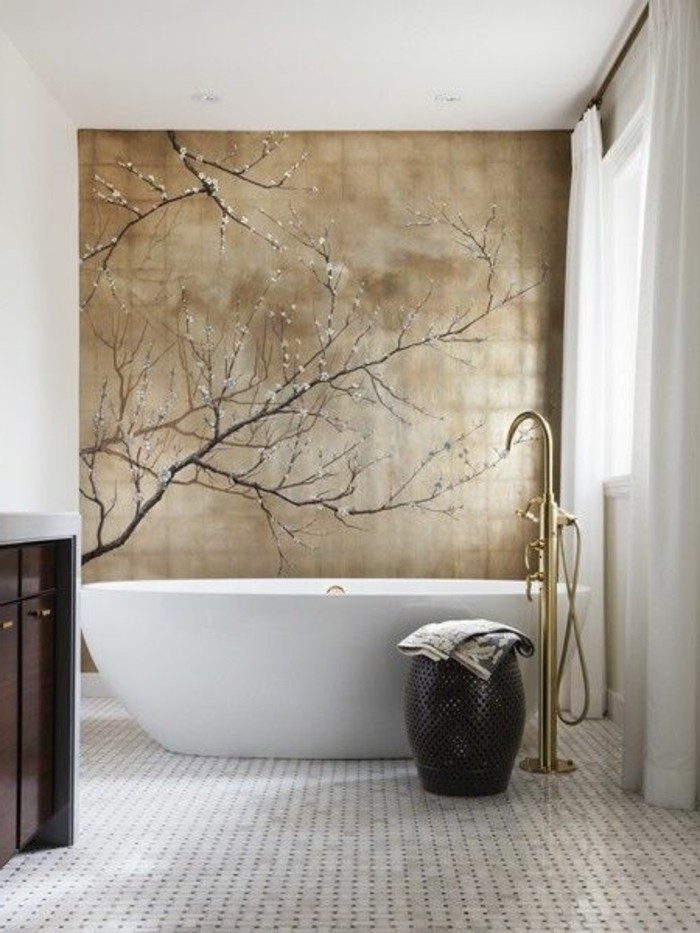 Deco chambre zen bambou for Chambre de bain zen