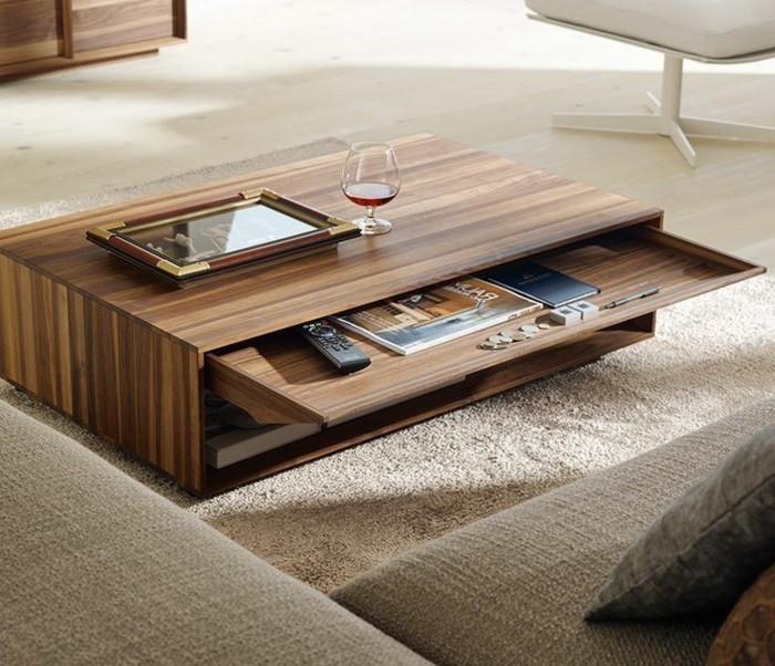 ★ Choisir le meilleur design de la table basse avec rangement
