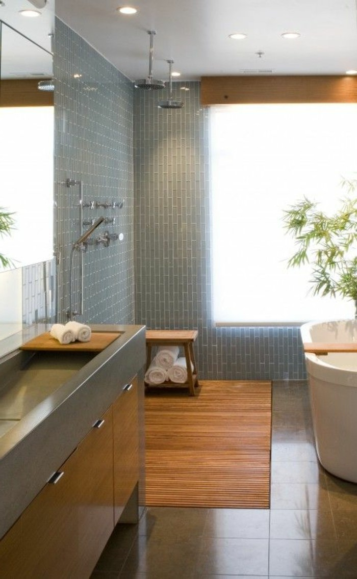 modern small bathroom design ideas 40 id 233 es en photos comment incorporer l ambiance zen 25203