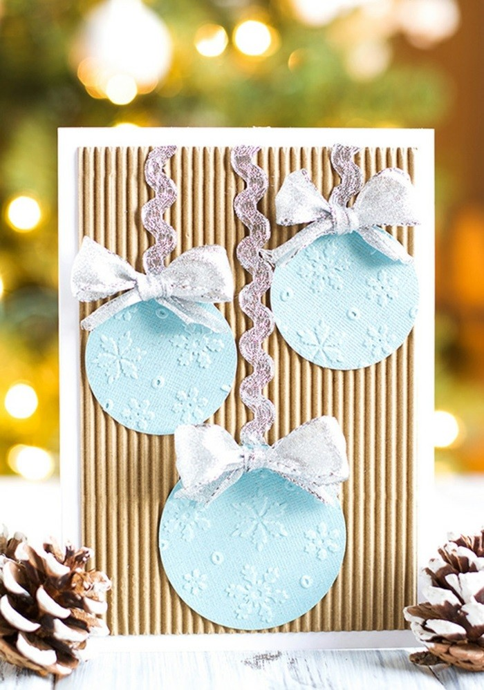 Belle-carte-joyeux-noël-festive-diy-idée-fini-fabrication-manuel