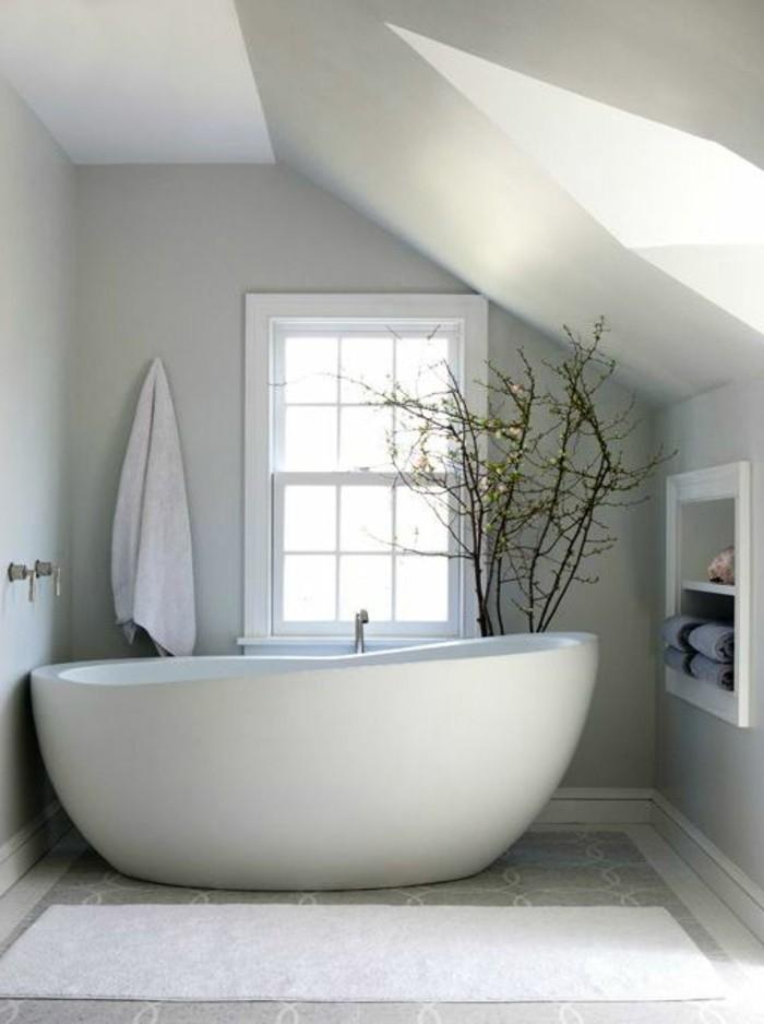 La baignoire ovale les meilleurs id es pour votre salle - Baignoire contemporaine ...