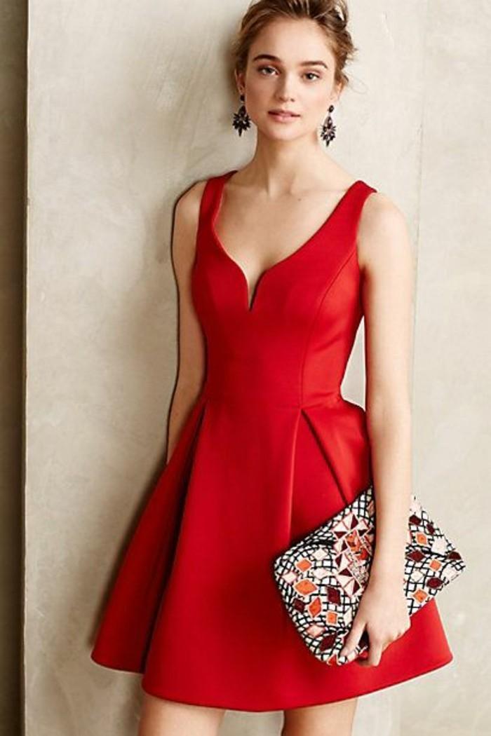 Chic-robe-de-cocktail-courte-robes-de-soirée-robe-de-cocktail-pas-cher-rouge-courte