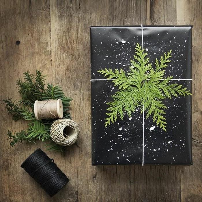 Cool-idée-papier-cadeau-personnalisé-noeud-cadeau-facile-à-faire-à-soi-même-noir