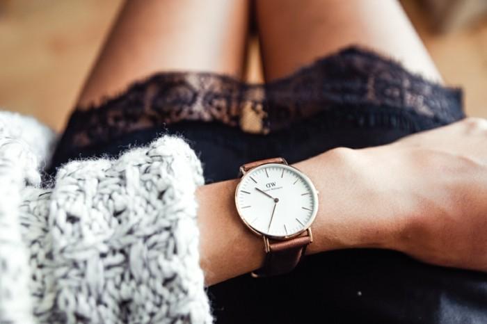 Cool-montre-femme-belle-tenue-doré-rose-michel-kors-w-d