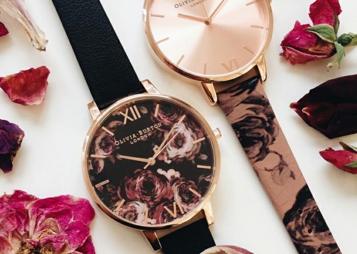 Cool-montre-femme-doré-rose-olivia-burton-montre-jolie