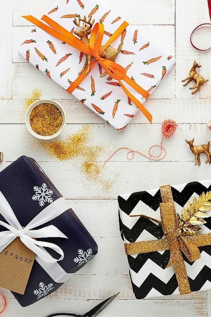 Cool-papier-cadeau-personnalisé-noeud-cadeau-paquet-cadeau