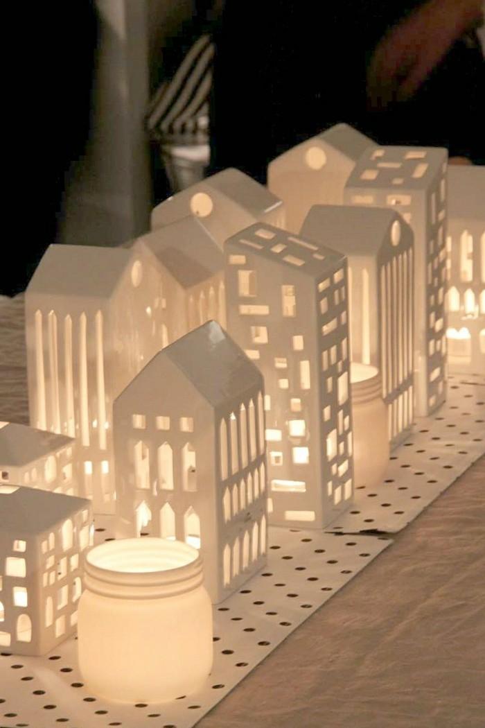 Decoration De Noel Vilage Miniature