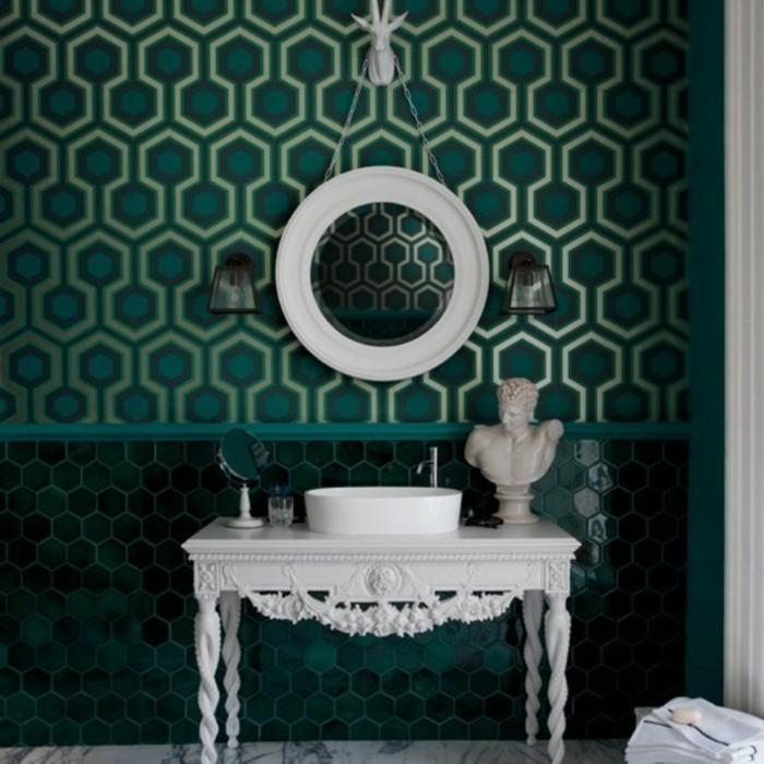 Design-papier-peint-pour-salle-de-bains-cool-idée-cool-geometrique