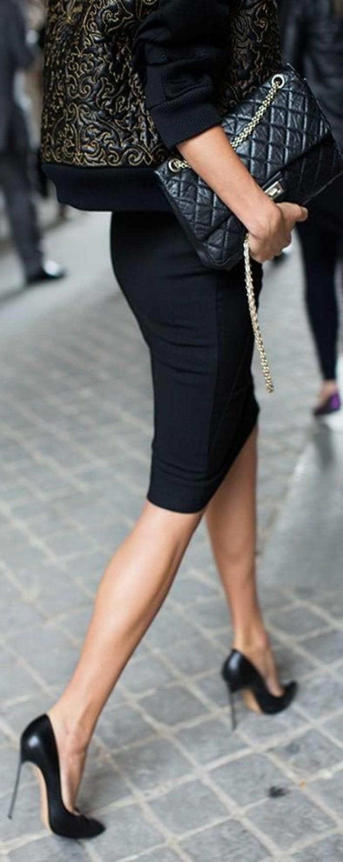 Escarping-talon-aiguille-chaussure-a-talon-escarpin-noir