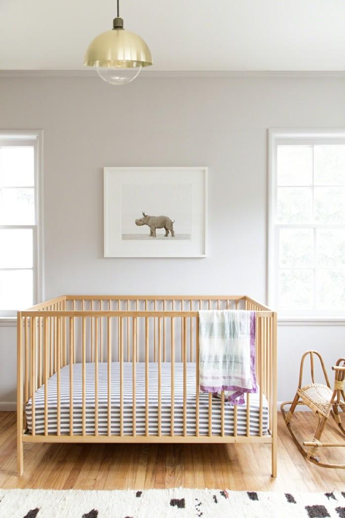 Idée-déco-chambre-bebe-lustre-chambre-bébé-belle-moderne