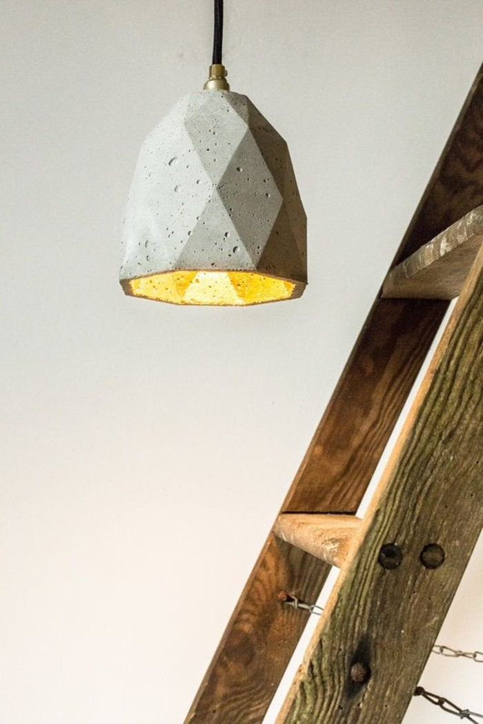 Idée-design-cool-echelle-lampes-design-originale