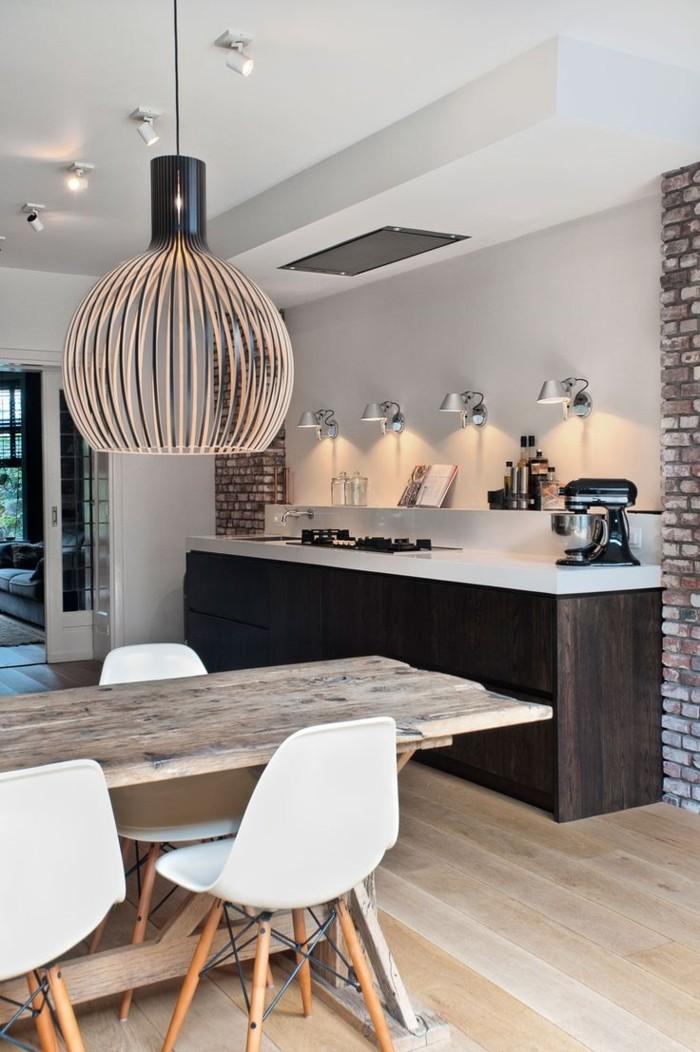 Idée-design-lampes-design-originale-cuisine-salle-à-manger