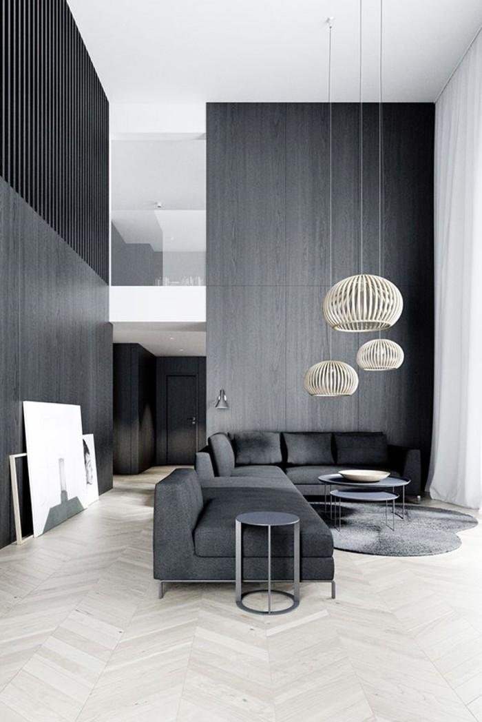 Idée-design-lampes-design-originale-salon-gris