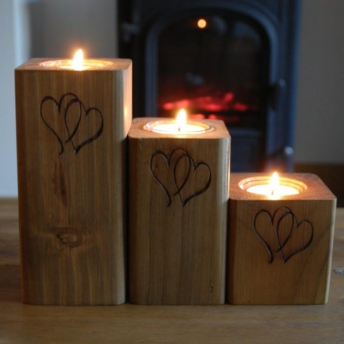 Le-bougie-aromatisé-decoration-de-noel-parfait-formidable-ambiance-romantique