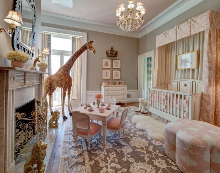 Le-lustre-chambre-bebe-cool-idée-mignon-chandelier