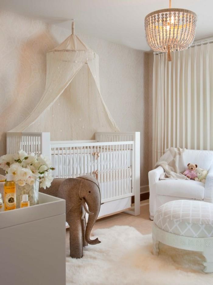 Le-lustre-chambre-bebe-idée-mignon-chandelier-lustre