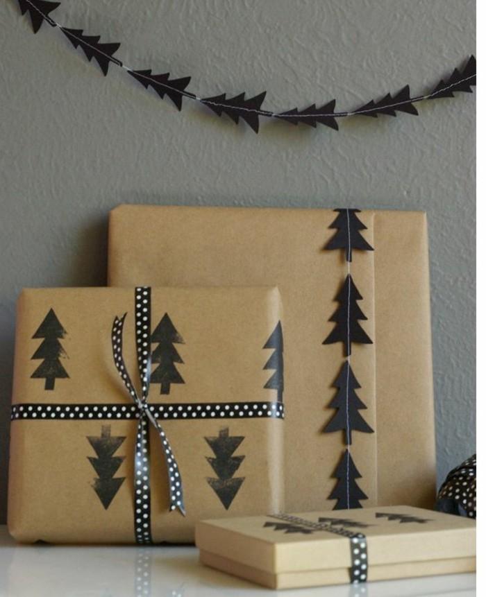 Le-papier-cadeau-personnalisé-idée-embalage-noel-diy-paquet-cadeau