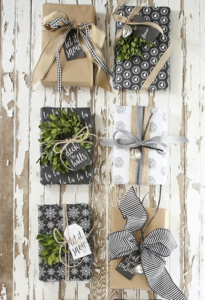 Le-papier-cadeau-personnalisé-idée-embalage-noel-noeud-cadeau