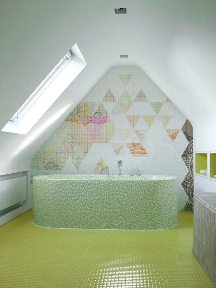 Papier Peint Salle De Bain Design Id Es