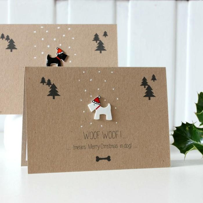 Les-cartes-joyeux-noël-inspiration-dromadaire-carte-chien-blanc