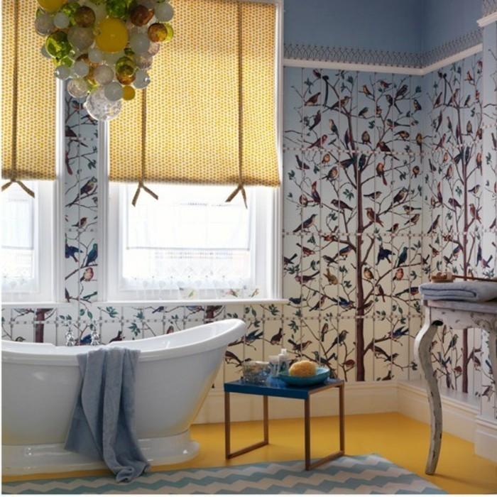 Les-plus-beaux-papier-peint-salle-de-bains-design-papier-peint-oiseaux
