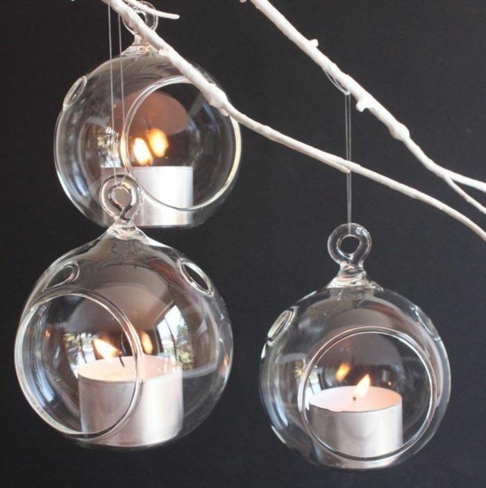 Magnifique-et-cool-bougie-de-noel-bougeoir-chandelier-personnalisé-boules