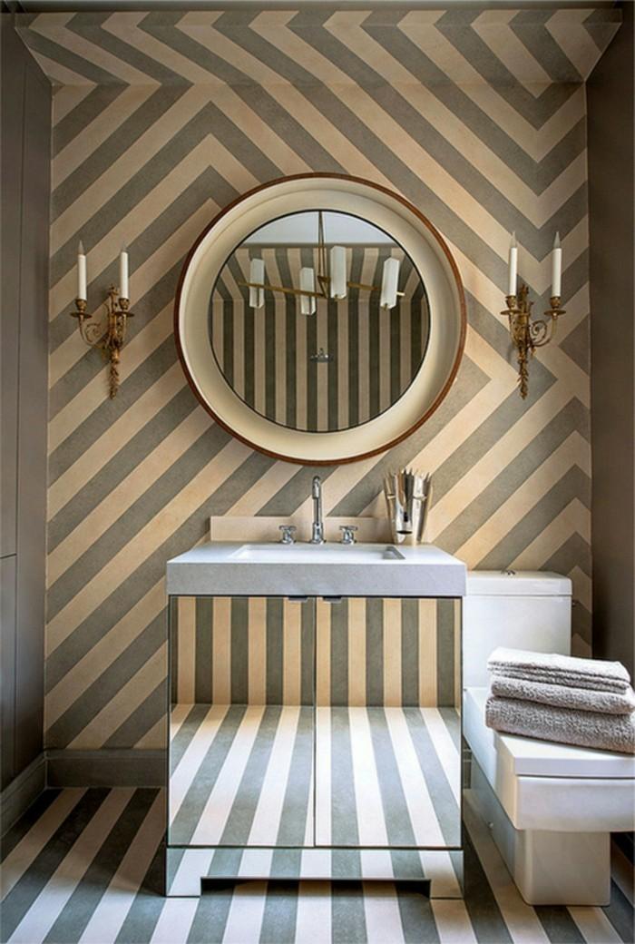 Papier-peint-de-salle-de-bain-design-vintage-salle-de-bains-cool