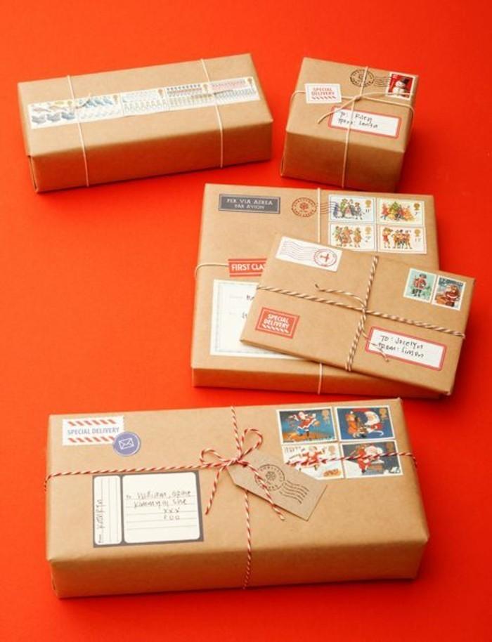 Personnalisé-papier-cadeau-original-papier-personnalisé-noeud-cadeau
