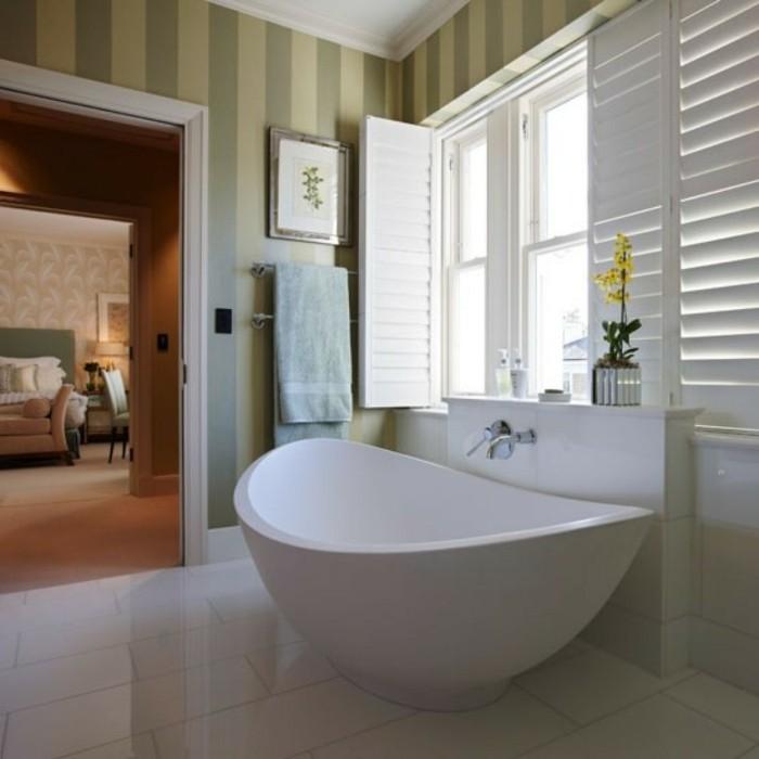 Papier peint salle de bain pas cher - Meuble salle de bain pas chere ...