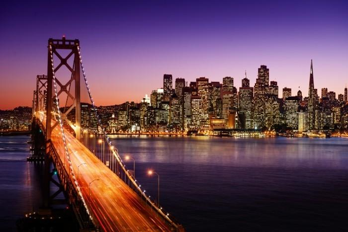 San-Francisco-les-plus-belles-villes-du-monde-beauté-le-pont-d-or-en-nuit-resized