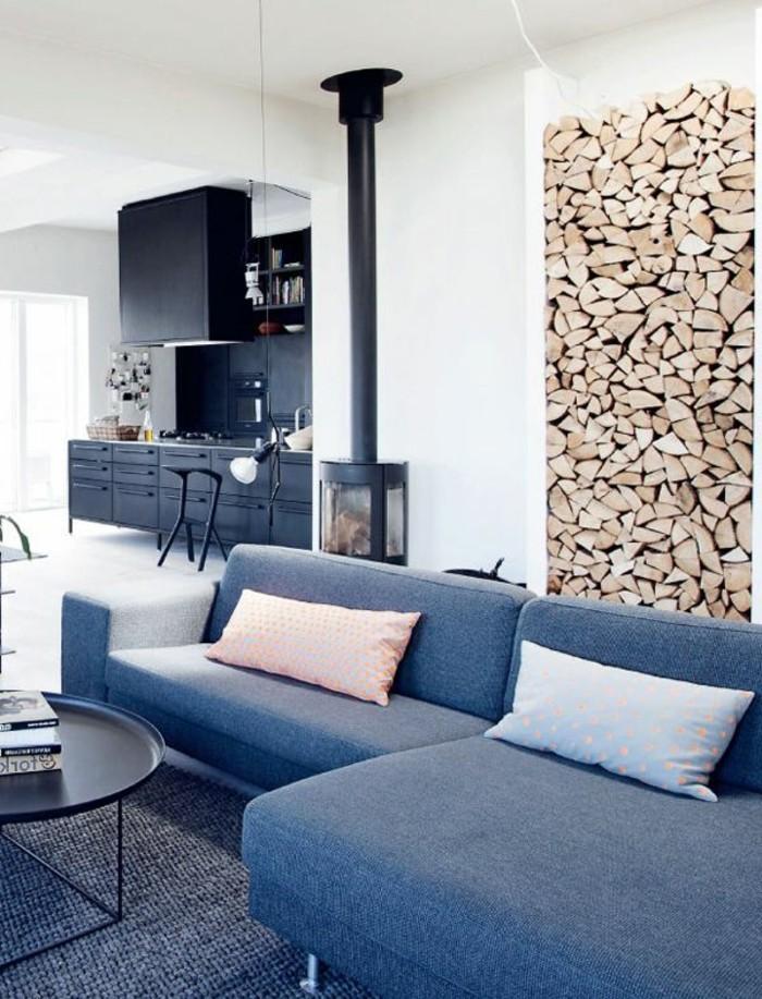 Meuble salon scandinave design d 39 int rieur et id es de for Meuble pour le salon