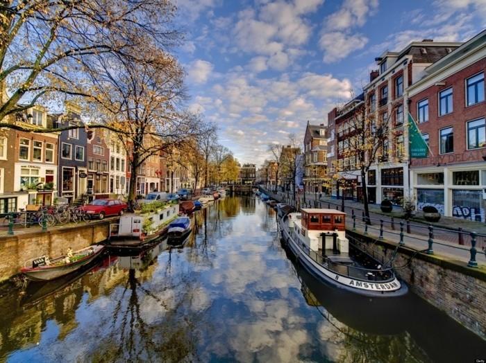 Amsterdam-belle-ville-à-visiter-se-promener-capitales européennes à visiter