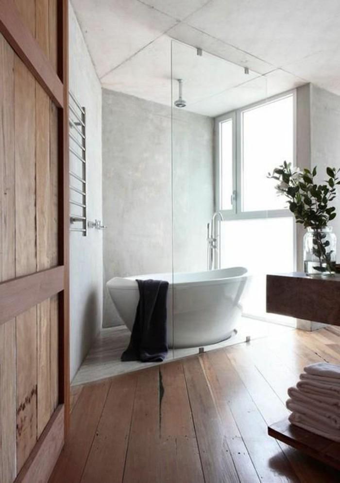 baignoire-ovale-encastrable-baignoire-ilot-beau-amenagement-intérieur