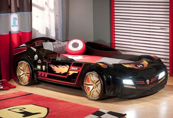 beau-chambre-cool-conforama-lit-voiture-enfant-pas-chambre-enfant-déco-automobile-cool-idée