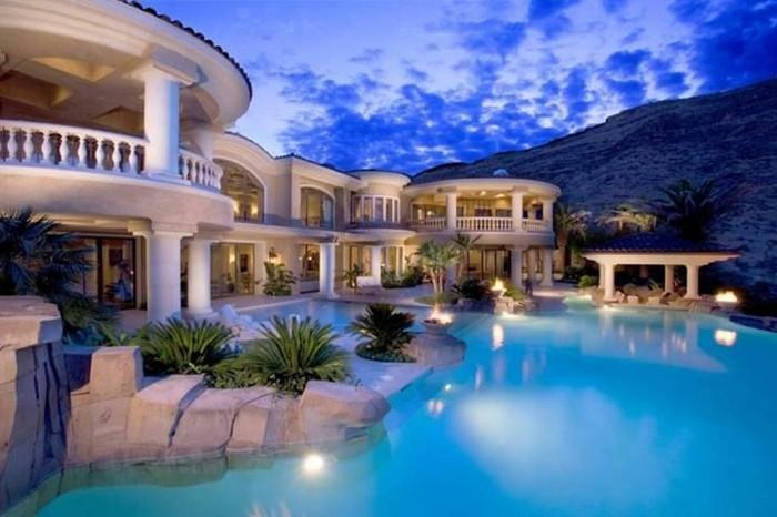 Beauté architecturale les plus belles villas du monde
