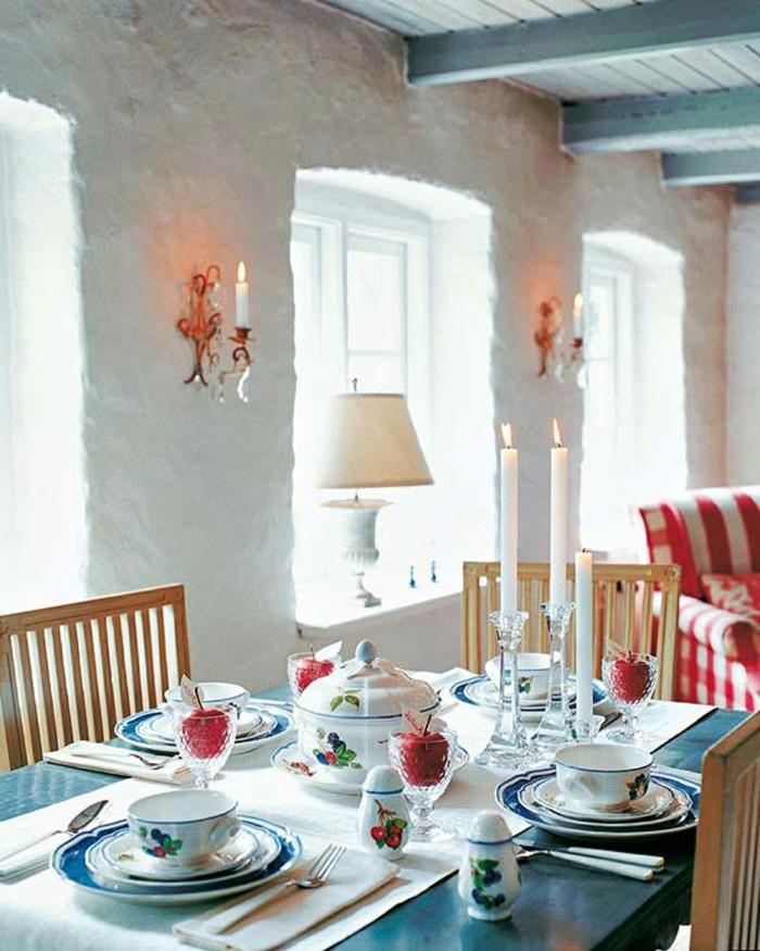 belle-décoration-de-noel-à-fabriquer-deco-table-de-noel-moderne
