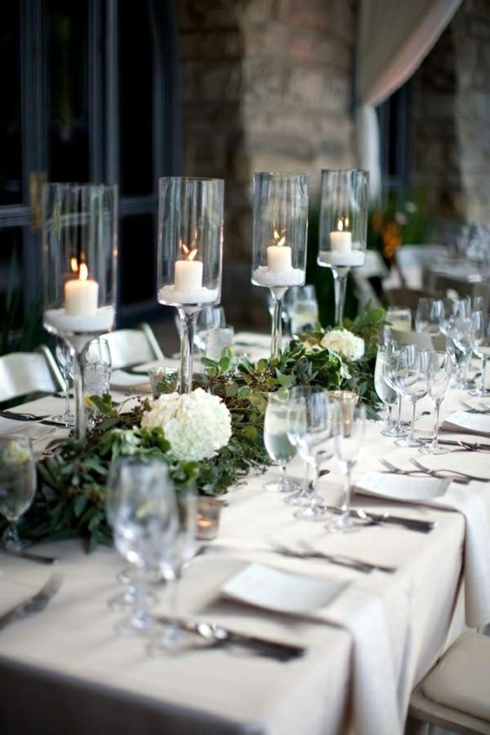 belle-décoration-de-noel-en-blanc-à-fabriquer-deco-table-de-noe