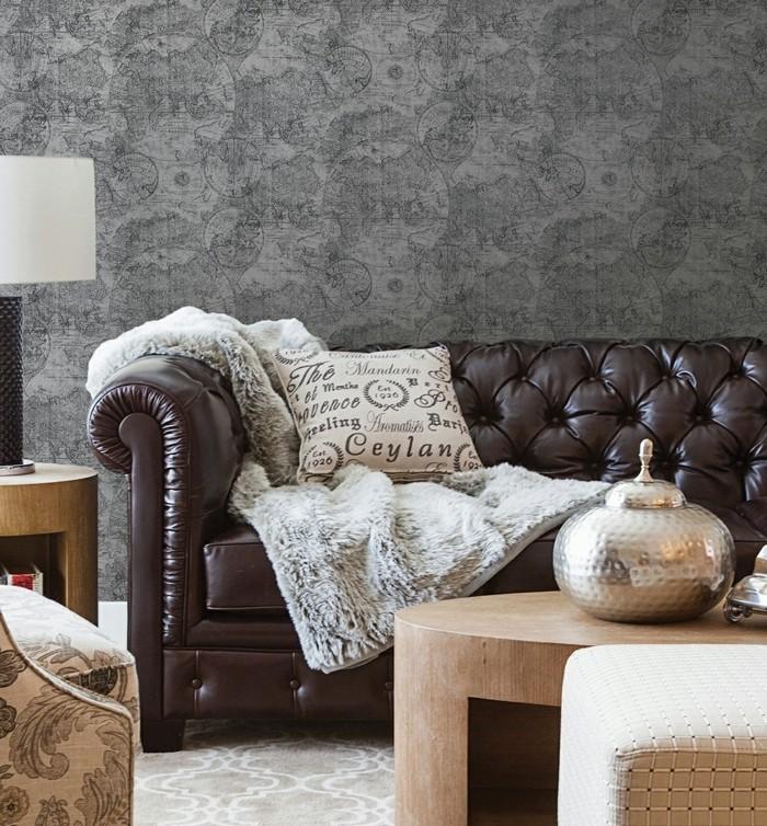 belle-idee-choisir-les-papiers-peints-vintage-décoration-cosy-retro-cabape-cuir