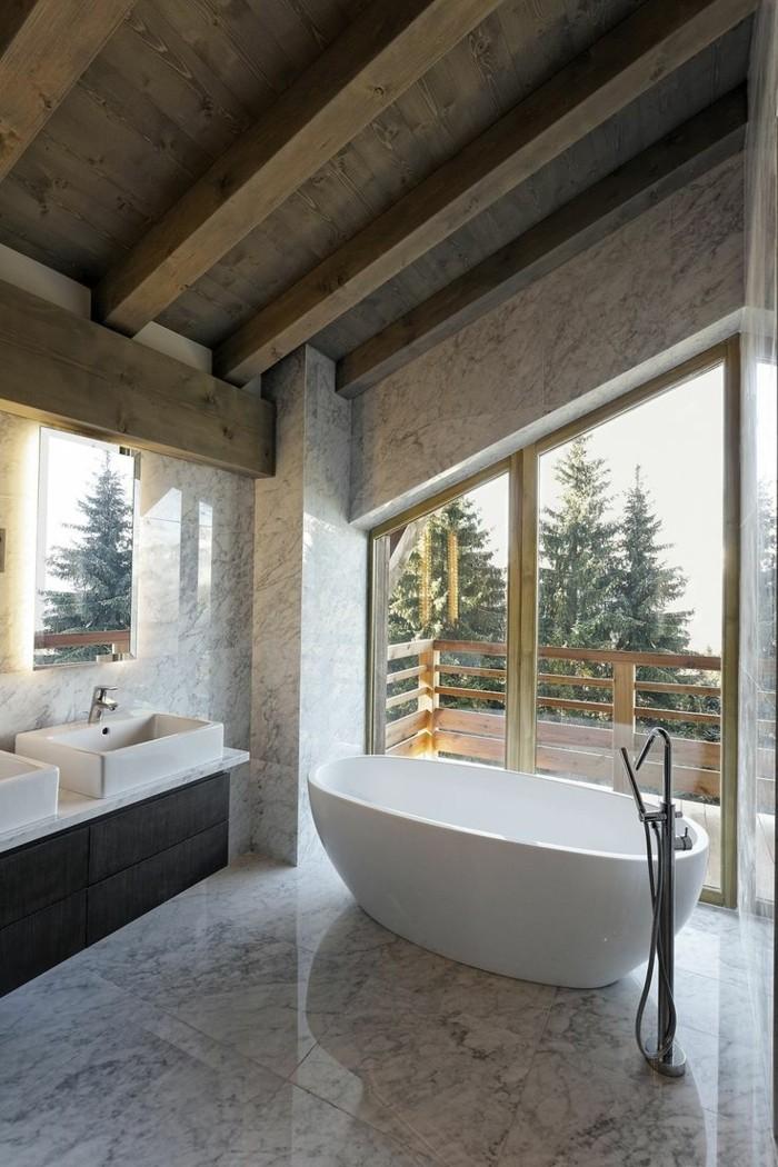 belle-vue-cool-baignoir-ilot-baignoire-moderne-baignore-montagne-chalet