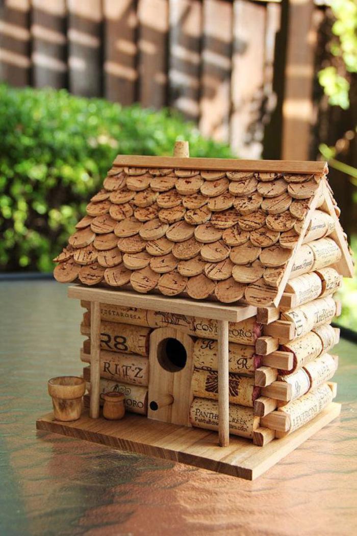 cabane-à-oiseaux-abri-d'oiseaux-créatif