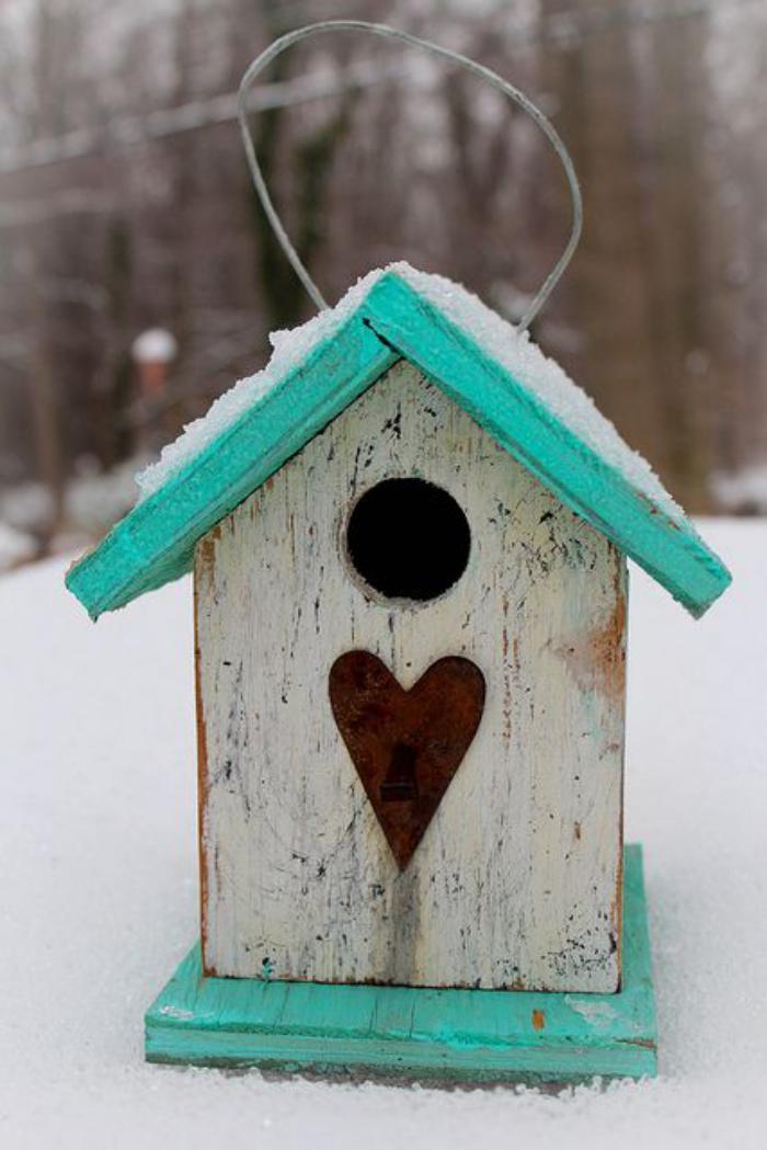Designs cr atifs de cabane oiseaux - Casitas para pajaros jardin ...