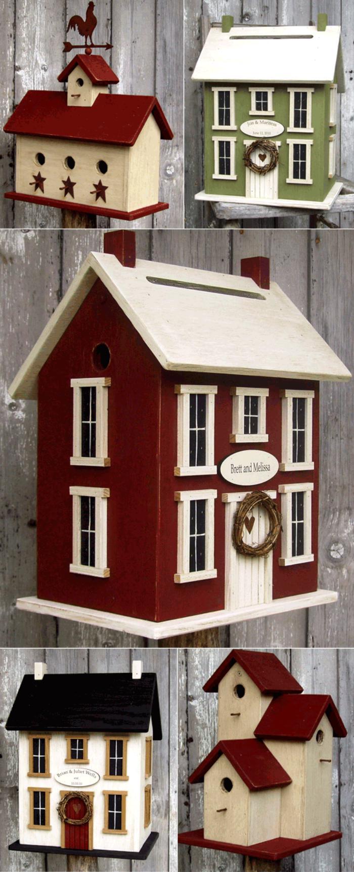cabane-à-oiseaux-maison-d'oiseaux-originales