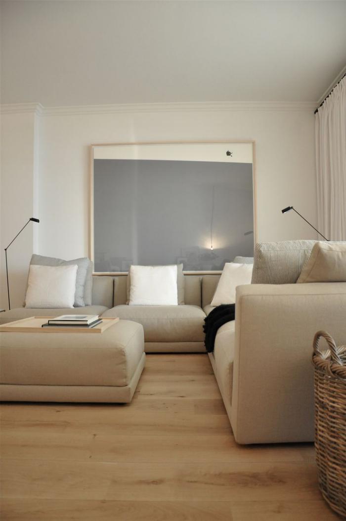 canapé-beige-équipement-de-salon-en-beige-style-minimaliste