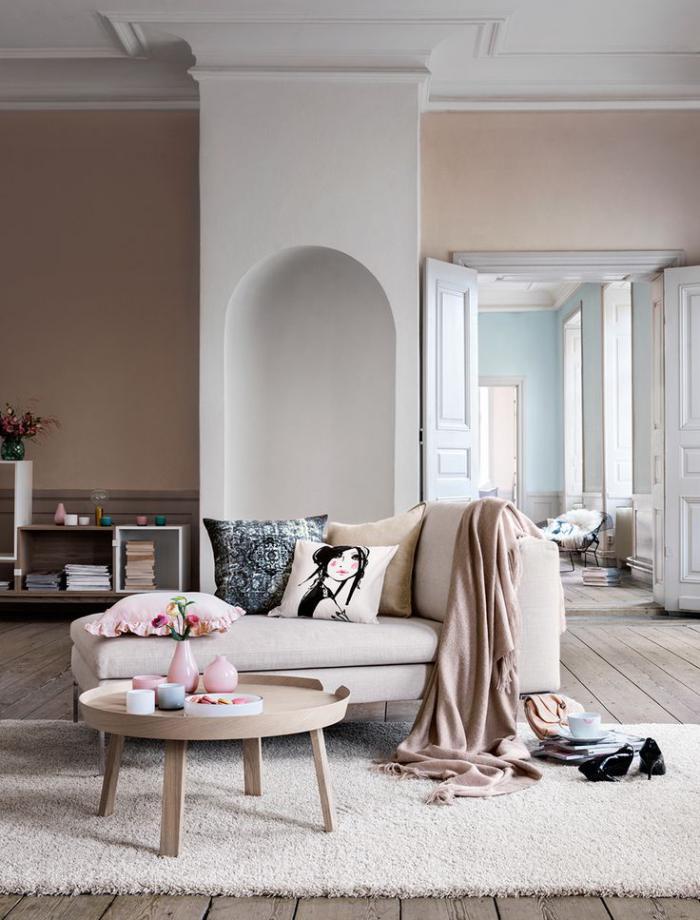 canapé-beige-coussins-déco-merveilleuses-table-basse